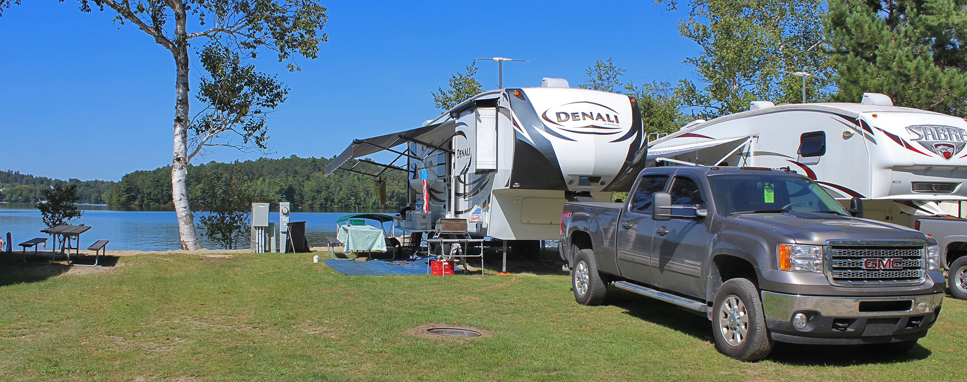 Lakeside Camping RV Site